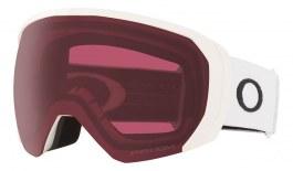 Oakley Flight Path XL Prescription Ski Goggles - Matte White / Prizm Dark Grey