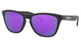 Oakley Frogskins Sunglasses - Matte Black / Prizm Violet
