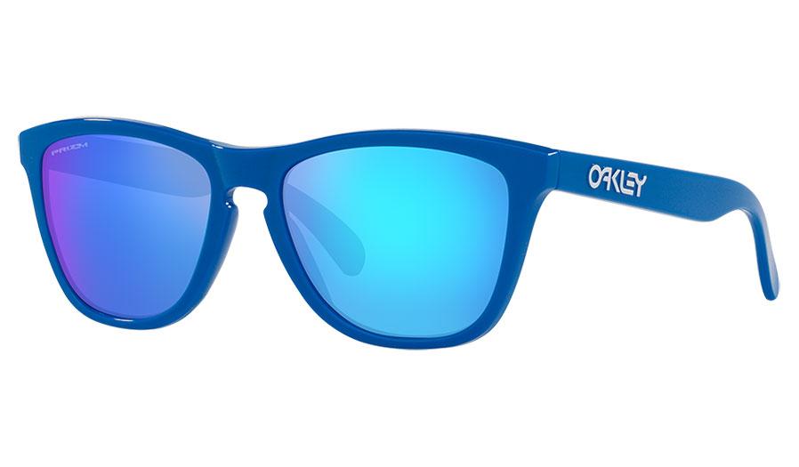 Oakley Frogskins Sunglasses - Origins Collection Sapphire / Prizm Sapphire