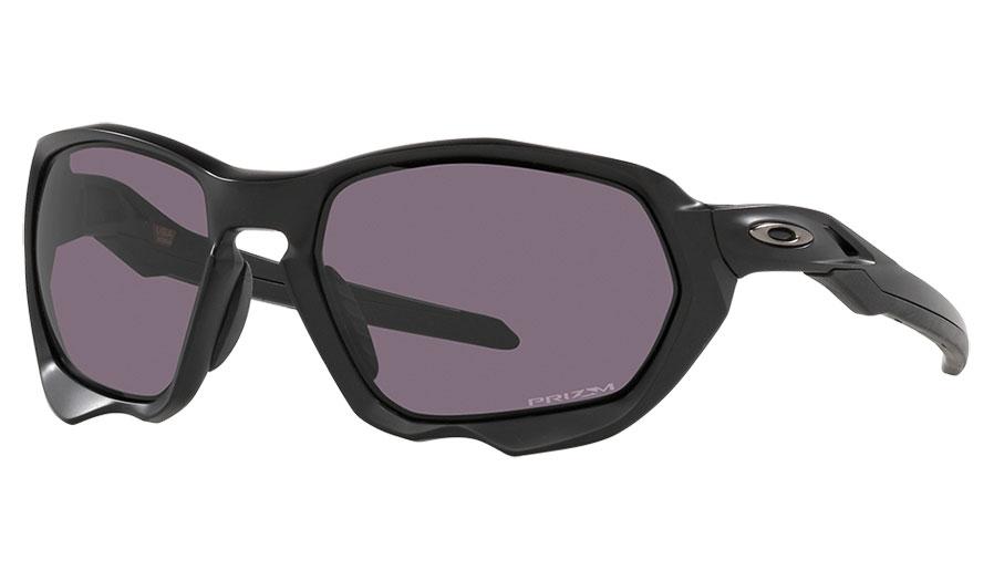 Oakley Plazma Sunglasses - Matte Black / Prizm Grey