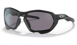 Oakley Plazma Sunglasses - Matte Black / Prizm Grey Polarised
