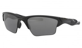 Oakley Half Jacket 2.0 XL Sunglasses - Polished Black / Black Iridium Polarised