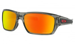 Oakley Turbine Sunglasses - Grey Ink / Prizm Ruby Polarised