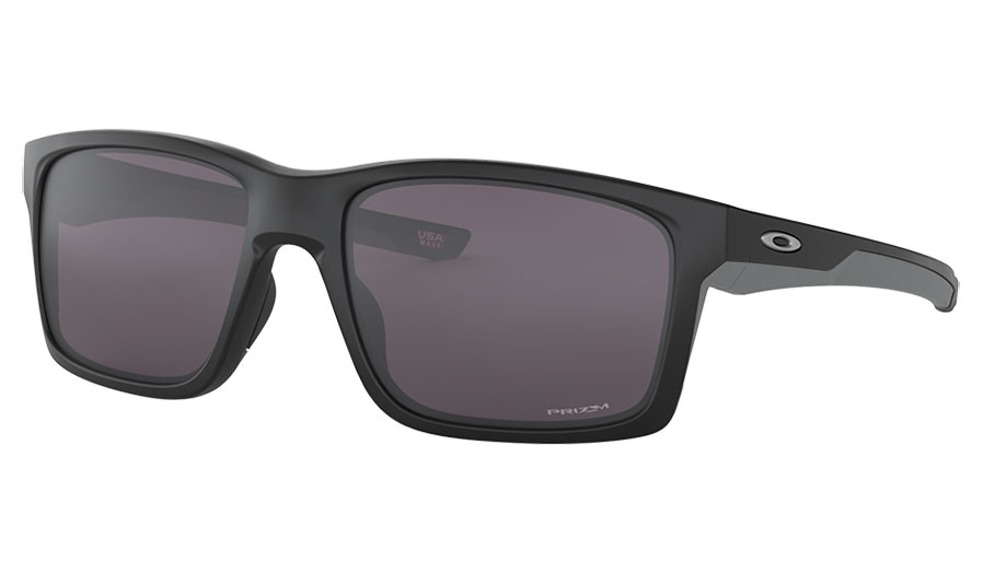Oakley Mainlink XL Sunglasses - Matte Black / Prizm Grey