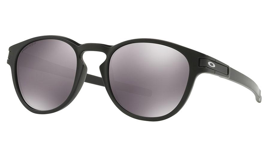 Oakley Latch Sunglasses - Matte Black / Prizm Black