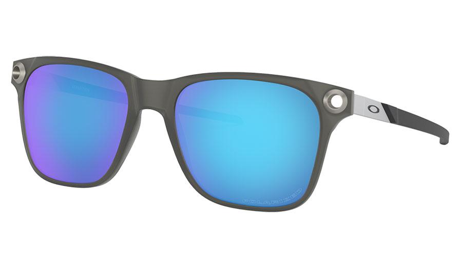 Oakley Apparition Sunglasses - Satin Black Ink / Sapphire Iridium Polarised