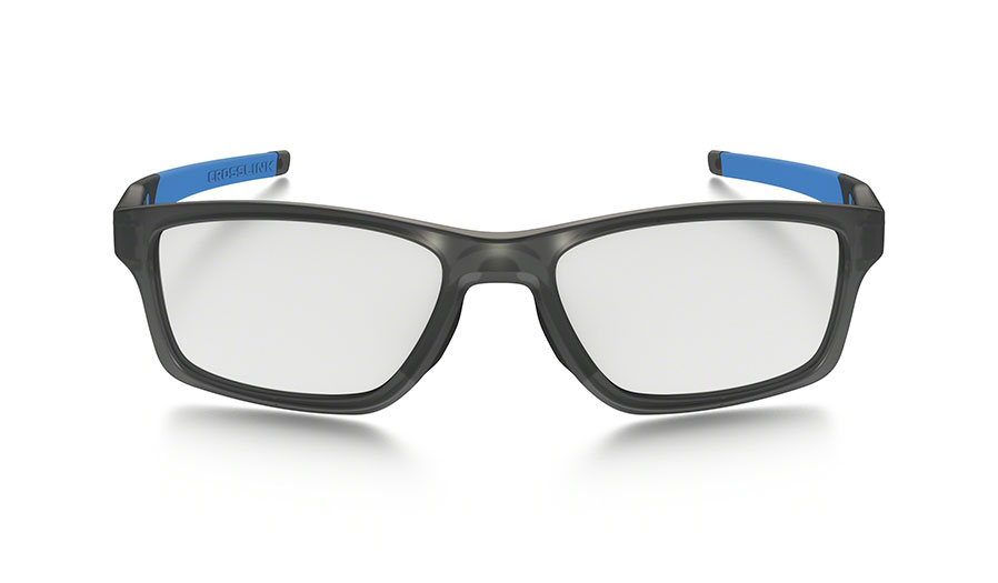c81df62e5f Oakley Crosslink MNP Prescription Glasses - Satin Grey Smoke ...