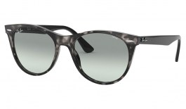 Ray-Ban RB2185 Wayfarer II Sunglasses - Grey Havana / Evolve Blue Gradient Photochromic
