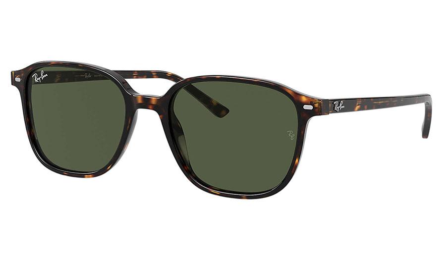 Ray-Ban RB2193 Leonard Sunglasses - Havana / Green