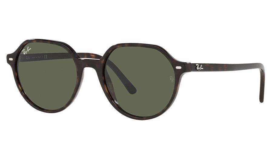 Ray-Ban RB2195 Thalia Sunglasses - Havana / Green