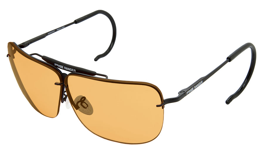 ade2eac8260a RE Ranger Classic Sunglasses - Matte Black   Orange - RxSport