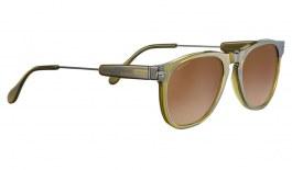 Serengeti Amboy Sunglasses - Translucent Olive & Dark Gunmetal / Drivers Gradient Polarised Photochromic