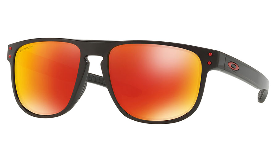 Oakley Holbrook R Sunglasses Polished Black Prizm Ruby