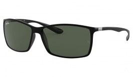 Ray-Ban RB4179 Liteforce Sunglasses - Black / Green