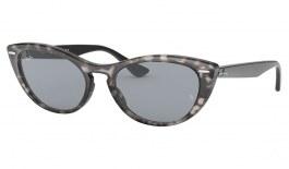 Ray-Ban RB4314N Nina Sunglasses - Grey Havana / Blue