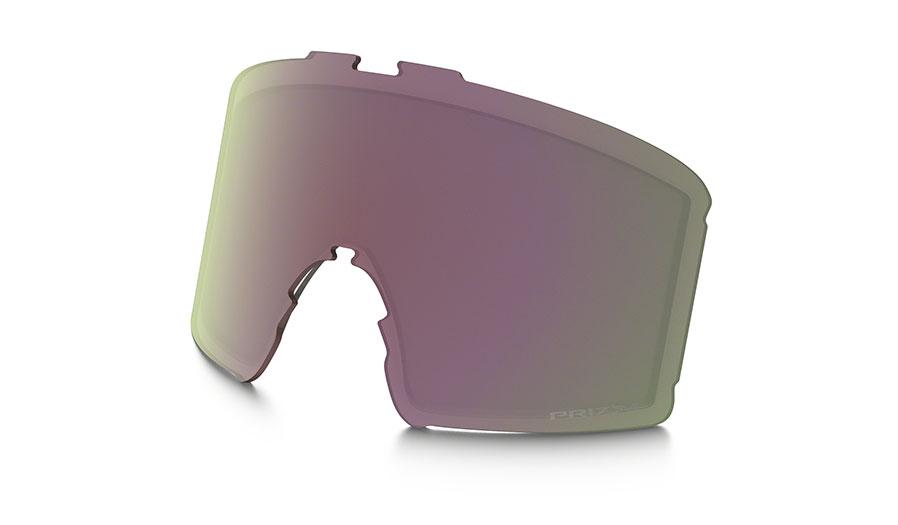 Oakley Line Miner XM Ski Goggles Replacement Lens Kit - Prizm HI Pink Iridium