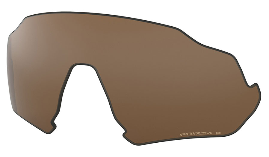 Oakley Flight Jacket Replacement Lens Kit - Prizm Tungsten Polarised