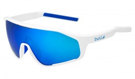Bolle Shifter Sunglasses - Shiny White / Brown Blue