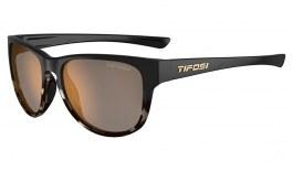 Tifosi Smoove Sunglasses - Satin Black & Java Fade / Brown Polarised