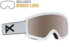 Anon Helix 2.0 Ski Goggles - White / Silver Amber + Amber