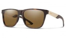 Smith Lowdown Steel XL Sunglasses - Matte Tortoise / ChromaPop Brown Polarised