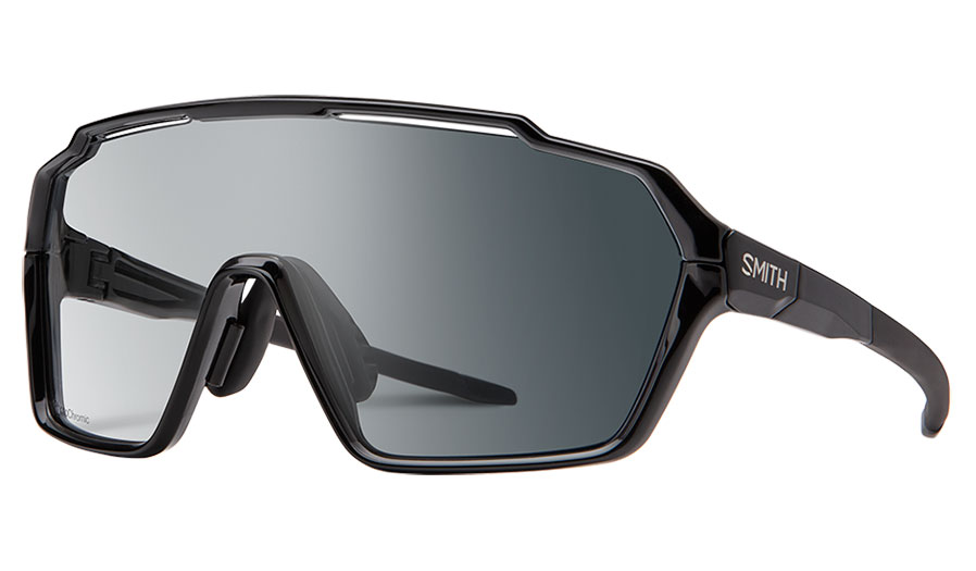 Smith Shift MAG Sunglasses - Black / Clear to Grey Photochromic + Clear