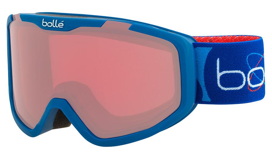 Bolle Rocket Ski Goggles - Matte Blue Aerospace / Vermillon