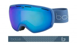 Bolle Laika Prescription Ski Goggles - Matte Yale Blue / Aurora