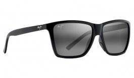 Maui Jim Cruzem Sunglasses - Gloss Black / Neutral Grey Polarised