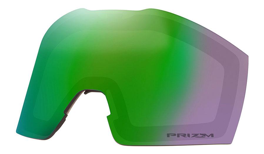 Oakley Fall Line XM Ski Goggles Replacement Lens Kit - Prizm Jade Iridium