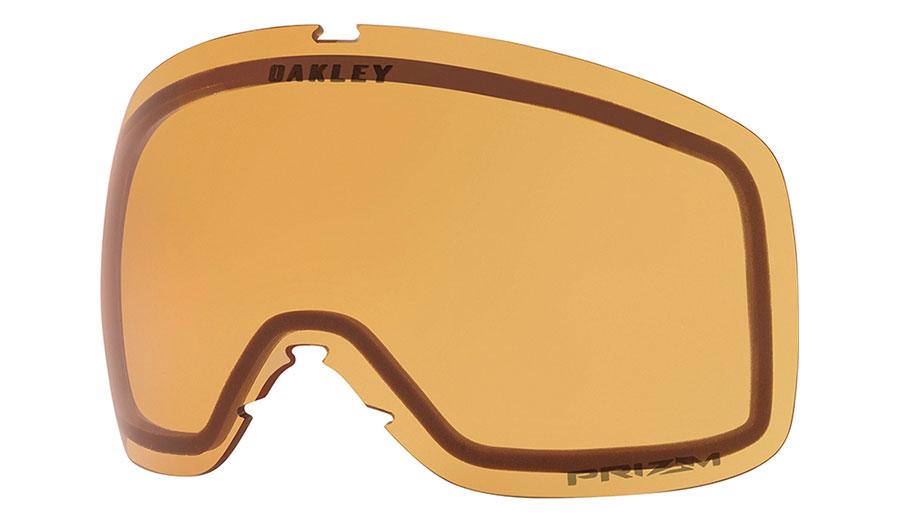 Oakley Flight Tracker XM Ski Goggles Replacement Lens Kit - Prizm Persimmon