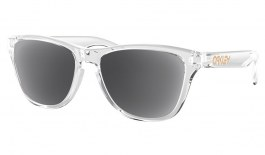 Oakley Frogskins XS Prescription Sunglasses - Polished Clear (Gold Icon)