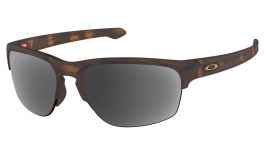 Oakley Sliver Edge Prescription Sunglasses - Matte Brown Tortoise