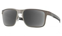 Oakley Holbrook Metal Prescription Sunglasses - Matte Gunmetal (Chrome Icon)