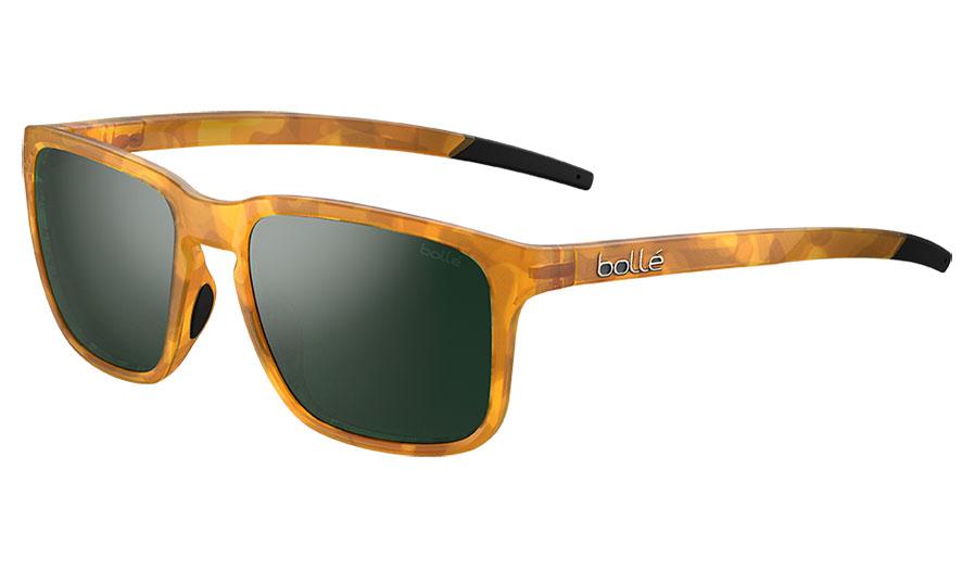 Bolle Score Sunglasses - Matte Caramel Tortoise / Axis HD Polarised