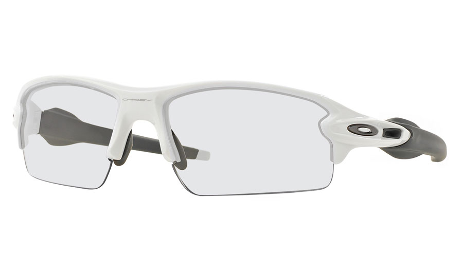 5ed63e189eb Oakley Flak 2.0 Prescription Sunglasses - Polished White - RxSport