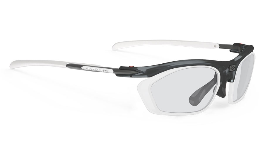 Rudy Project Rydon Slim Prescription Sunglasses - Optical Dock - Frozen Ash & White (Matte White Optical Dock)