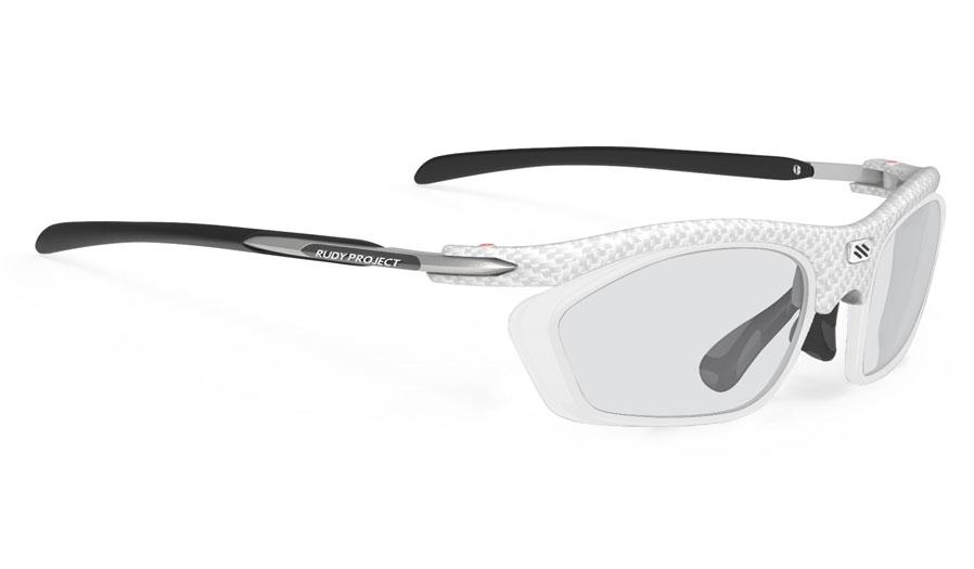 Rudy Project Rydon Slim Prescription Sunglasses - Optical Dock - White Carbonium