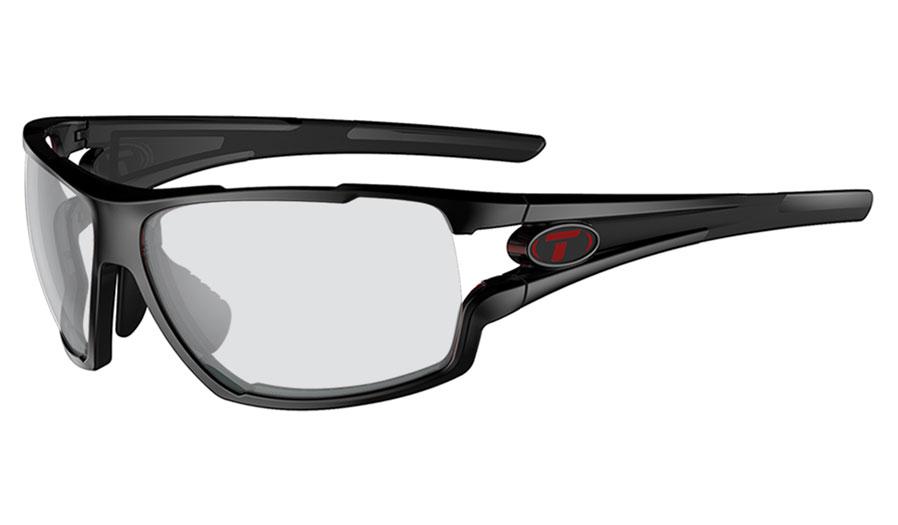 Tifosi Amok Prescription Sunglasses - Crystal Black