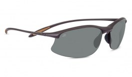Serengeti Maestrale Prescription Sunglasses - Sanded Dark Brown