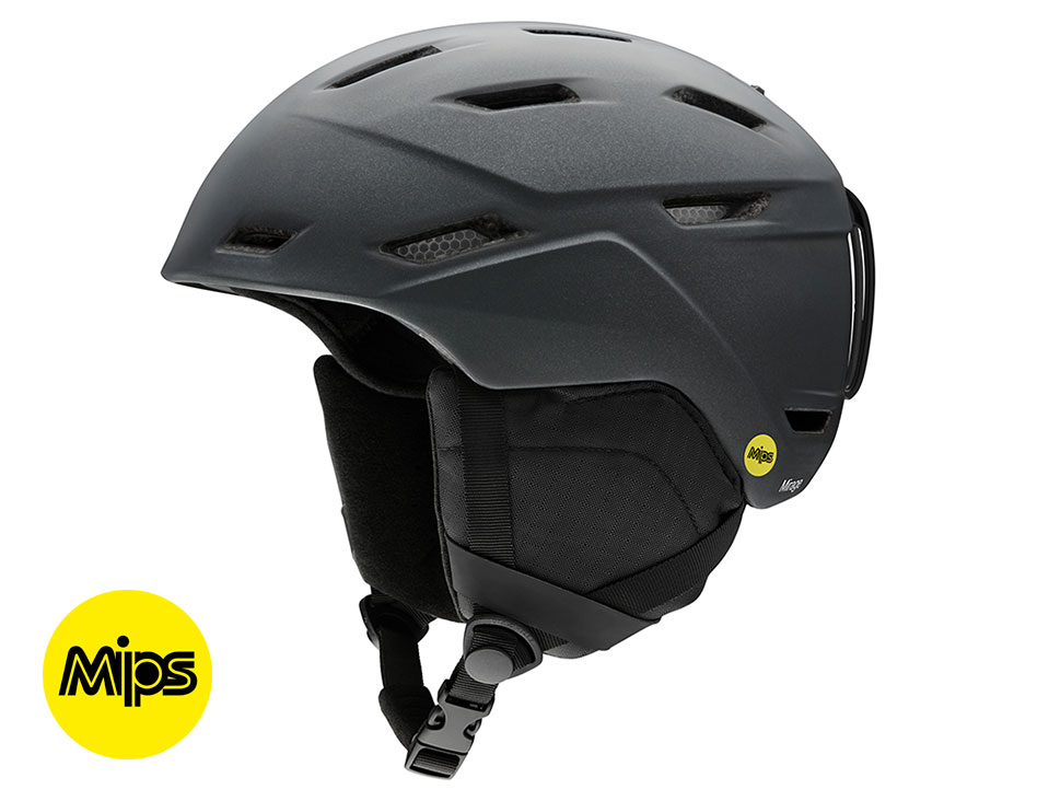 Smith Mirage MIPS Ski Helmet - Matte Black Pearl