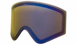 Electric EGX Ski Goggles Replacement Lens - Yellow / Blue Chrome