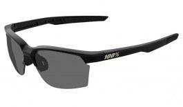 100% Sportcoupe Prescription Sunglasses - Soft Tact Black