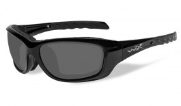 Wiley X Gravity Prescription Sunglasses - Gloss Black