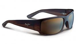 Maui Jim World Cup Sunglasses - Chocolate Stripe Fade / HCL Bronze Polarised