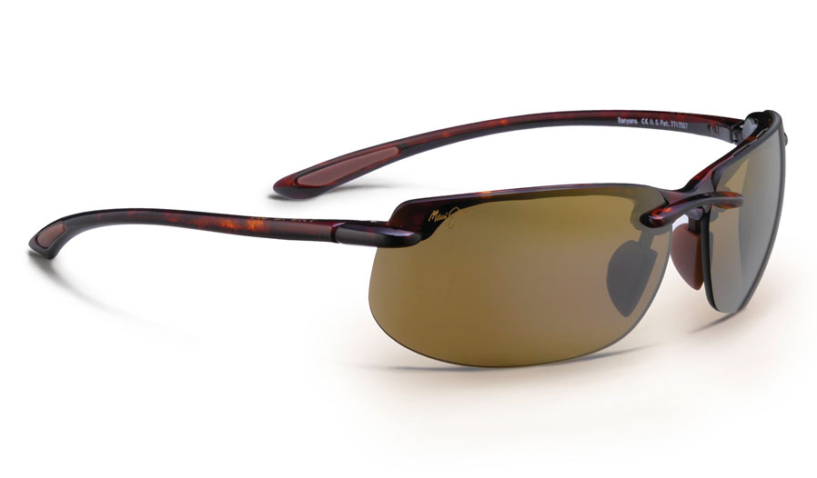Maui Jim Banyans Sunglasses - Tortoise / HCL Bronze Polarised