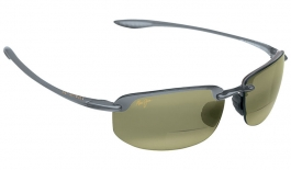 Maui Jim Ho'okipa Readers - Trans Smoke Grey / Maui HT Polarised