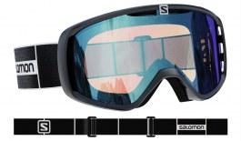 Salomon Aksium Prescription Ski Goggles - Black / All Weather Blue Photochromic