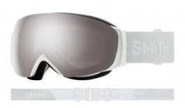 Smith I/O MAG S Ski Goggles - White Vapor / ChromaPop Sun Platinum Mirror + ChromaPop Storm Rose Flash