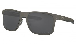 Oakley Holbrook Metal Sunglasses - Matte Gunmetal / Prizm Black Polarised